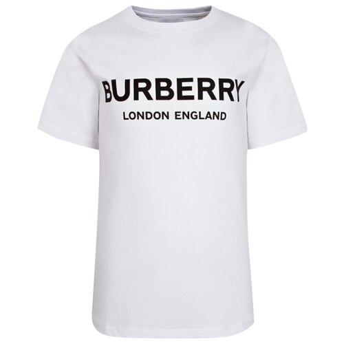 Футболка Burberry размер 104, белый футболка burberry 39624661