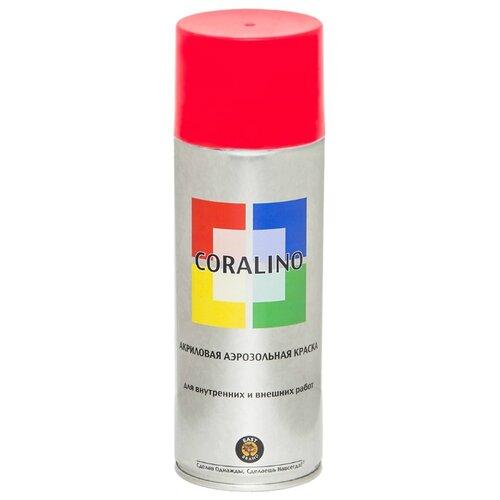 Краска Eastbrand Coralino универсальная RAL 3020 светофорно-красный 520 мл