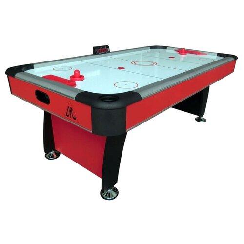 Игровой стол для аэрохоккея DFC Baltimor DS-AT-09 красный/черный