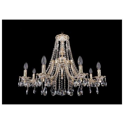 Люстра Bohemia Ivele Crystal 1771 1771/8/270/A/GW, E14, 320 Вт штоф eskymos crystal bohemia 8 марта женщинам