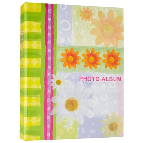 Фотоальбом BRAUBERG Настроение (390670), 200 фото, для формата 10 х 15, желтый фотоальбом innova glitter silver 200 фотографий 10 х 15 см