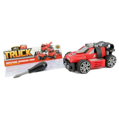 Винтовой конструктор JRX Truck 72278 Пожарный автомобиль, Конструкторы  - купить со скидкой
