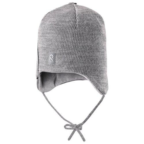 Купить Шапка Reima размер 46, серый, Головные уборы