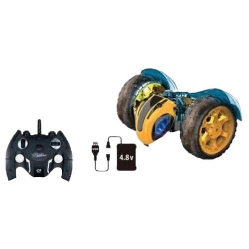 Купить Машинка-перевертыш Наша игрушка Пчела-метеор M0387C 21 см желтый/черный, Радиоуправляемые игрушки