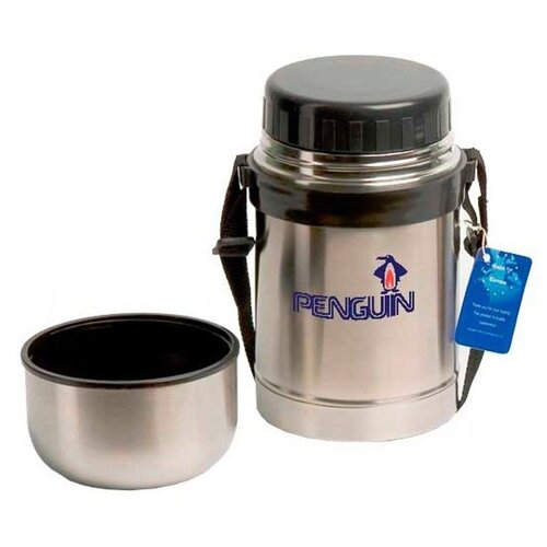 Термос для еды Penguin ВК-102/ВК-102A (0,5 л/0,6 л) серебристый термос для еды penguin bk 100 0 75 л стальной