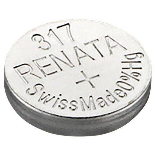 Фото - Батарейка Renata 317, 1 шт. батарейка renata 335 1 шт