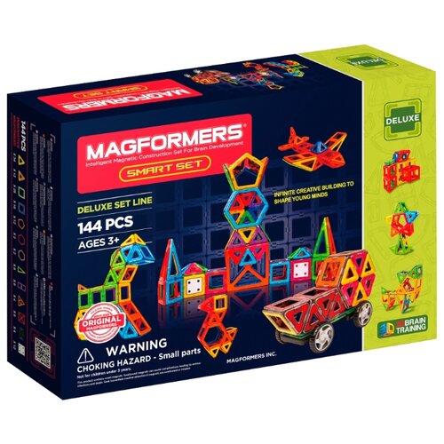 Купить Магнитный конструктор Magformers Deluxe 710001 (63082) Smart Set, Конструкторы