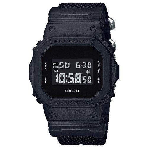 Фото - Японские наручные часы Casio G-SHOCK DW-5600BBN-1E с хронографом casio часы casio dw 5600dc 1e коллекция g shock