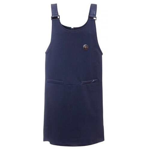 Купить Сарафан Nota Bene размер 122, темно-синий, Платья и сарафаны