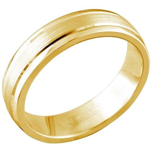 Эстет Кольцо из жёлтого золота 01О030362, размер 15.5 фото