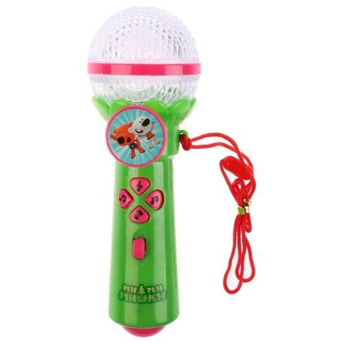 Купить Умка микрофон Ми-ми-мишки B1252960-R11 зеленый, Детские музыкальные инструменты