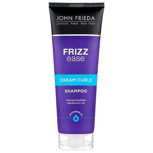 John Frieda шампунь Frizz Ease Dream Curls для волнистых и вьющихся волос 250 мл john frieda кондиционер для гладкости волос против влажности frizz ease forever smooth 250 мл