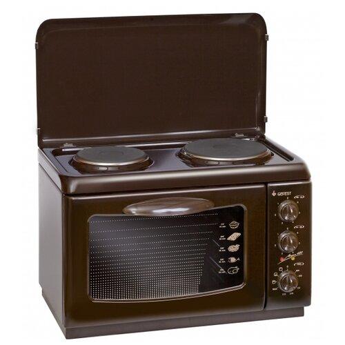 Фото - Мини-печь GEFEST ЭП Нс Д 420 коричневый мини печь gfgril gfao 500 коричневый