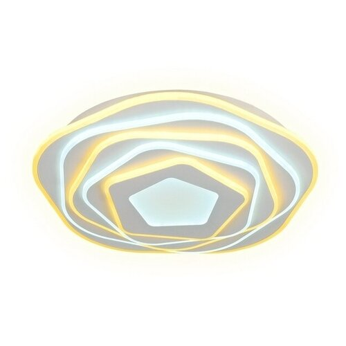 Светильник светодиодный Ambrella light FA814 WH, LED, 78 Вт светильник светодиодный ambrella light fa457 6 3 wh led 135 вт