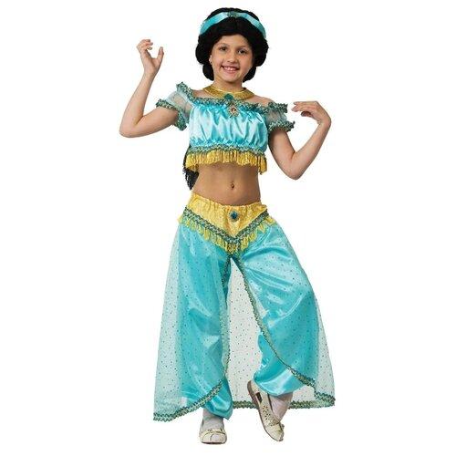 Костюм Батик Принцесса Жасмин (7066), голубой, размер 134, Карнавальные костюмы  - купить со скидкой