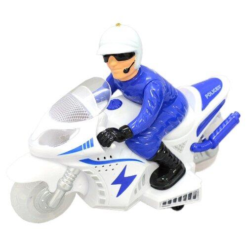 Мотоцикл Wei Di 009-12 белый/синий wei masi 58 5 27