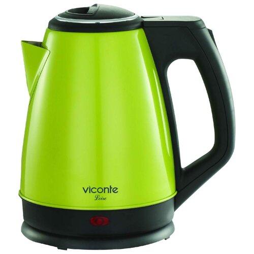 Чайник Viconte VC-3281, салатовый чайник viconte vc 3275