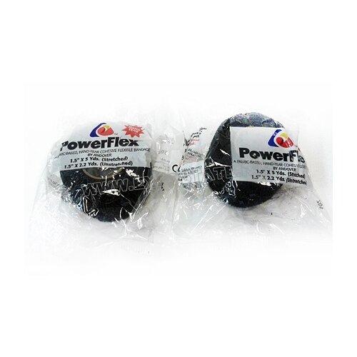 Лента хоккейная для рукоятки Power Flex цветная 4,5 м L917, Чёрный