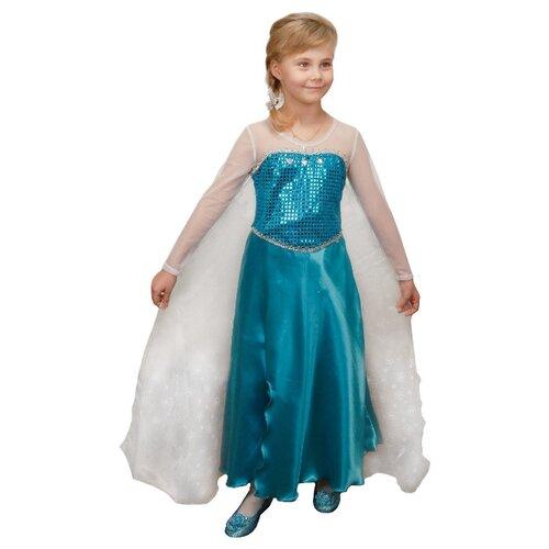 Купить Костюм Elite CLASSIC Элла, голубой, размер 32 (128), Карнавальные костюмы