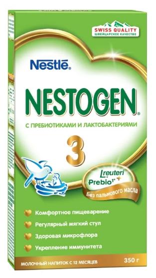Смесь Nestogen (Nestlé) 3 (с 12 месяцев) 350 г