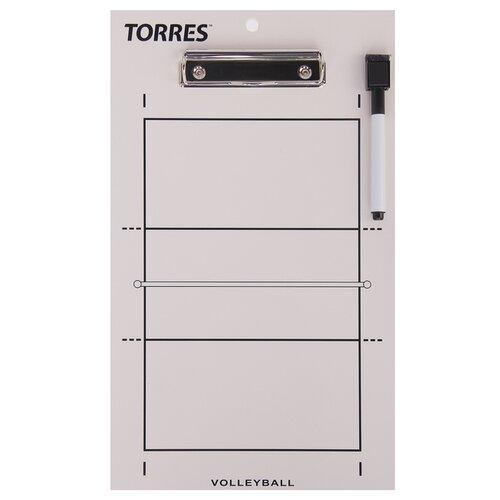 Волейбольная тактическая доска TORRES TR1001V, белый