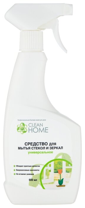 Спрей Clean Home для мытья стекол