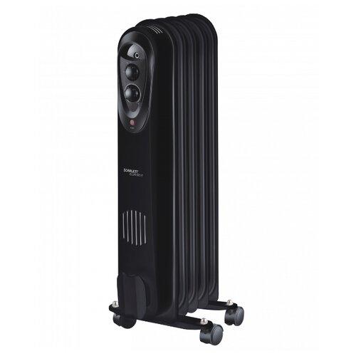 Масляный радиатор Scarlett SC 21.1005 S3/S3B черный