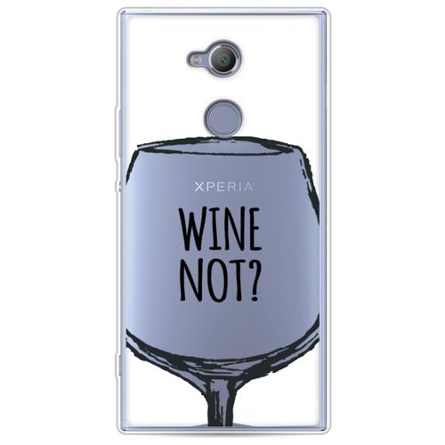 Силиконовый чехол Wine not white на Sony Xperia XA2 Ultra