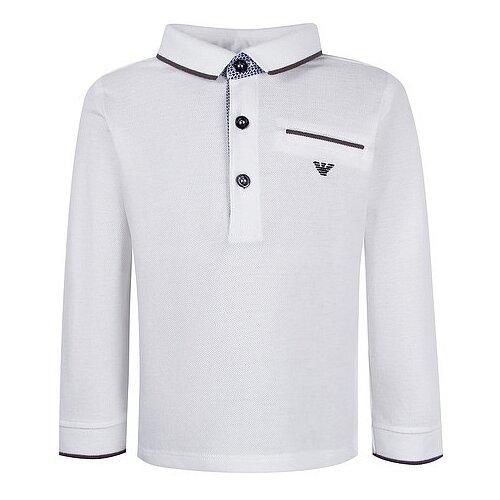 Купить Поло EMPORIO ARMANI размер 68, белый, Футболки и рубашки