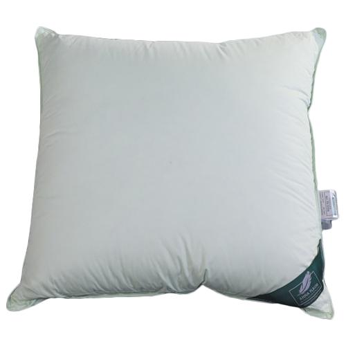 Фото - Подушка ANNA FLAUM Sommer упругая 70 х 70 см мятный подушки для беременных anna flaum подушка 2 х камерная упругая flaum sommer kollektion 70х70 см
