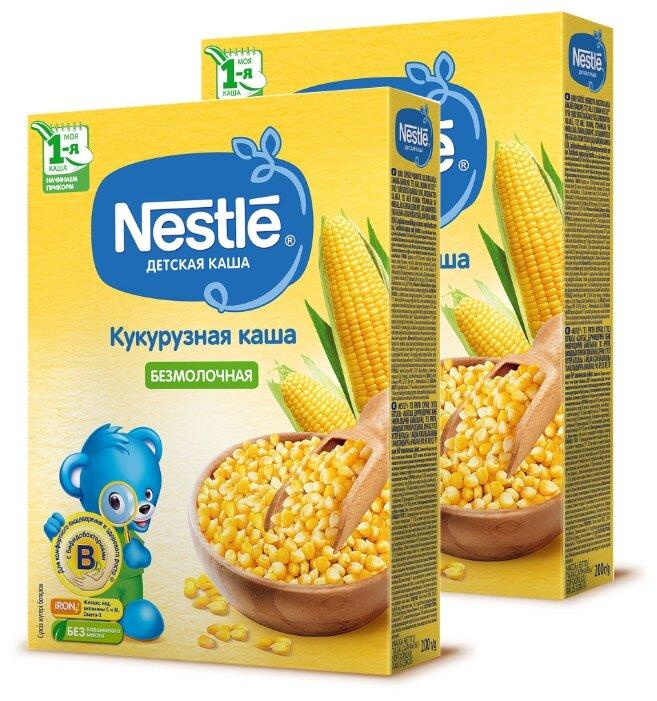 Каша Nestlé безмолочная кукурузная (с 5 месяцев) 200 г (2 шт.)