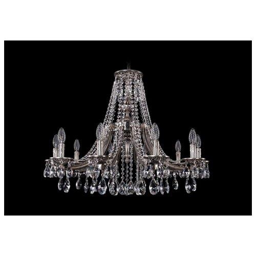 Люстра Bohemia Ivele Crystal 1771 1771/10/270/A/NB, E14, 400 Вт bohemia ivele crystal подвесная люстра bohemia ivele crystal 1702 8 250 a nb k731