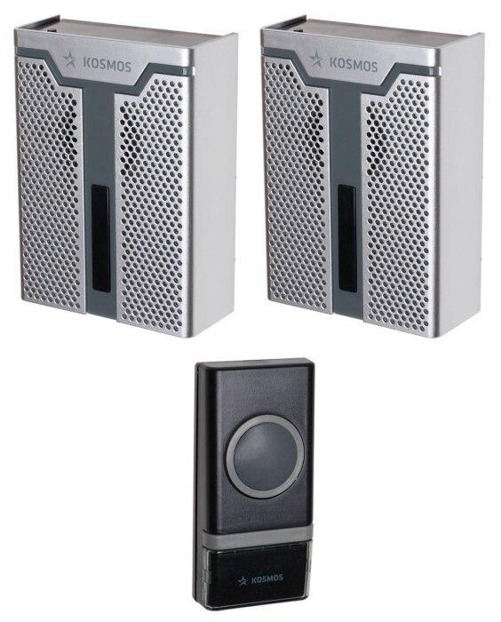 Звонок с кнопкой КОСМОС KOC AG520C1 электронный беспроводной (количество мелодий: 32)