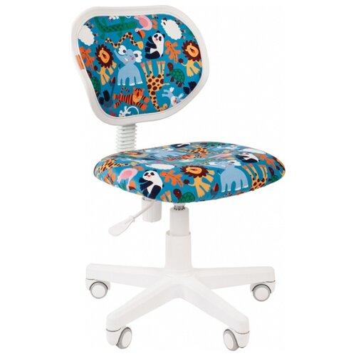 Компьютерное кресло Chairman Kids 106 детское, обивка: текстиль, цвет: зоопарк компьютерное кресло chairman kids 106 детское обивка текстиль цвет автобусы