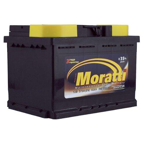 Автомобильный аккумулятор Moratti 560 059 057