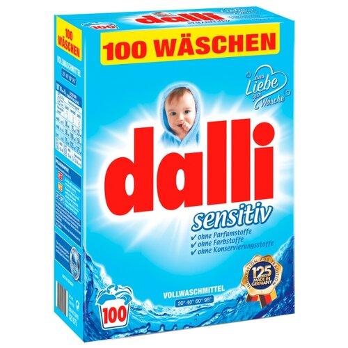 Стиральный порошок Dalli Sensitive картонная пачка 6.5 кг
