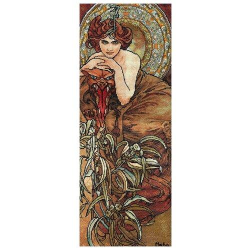Купить PANNA Набор для вышивания Изумруд 56 х 21.5 см (VH-0450), Наборы для вышивания