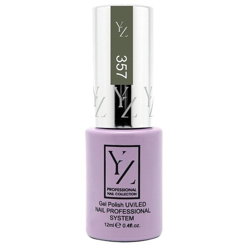 Купить Гель-лак для ногтей Yllozure Nail Professional System, 12 мл, оттенок 357 дымно-оливковый