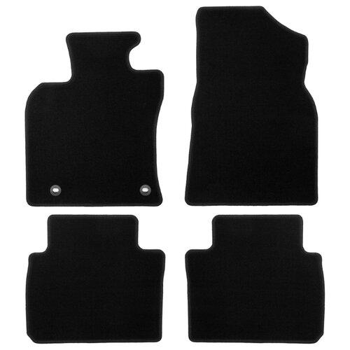 Комплект ковриков KLEVER 01480301200k для Toyota Corolla 4 шт. черный