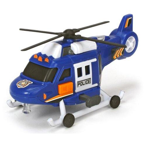 Купить Вертолет Dickie Toys 3302016 18 см синий, Машинки и техника