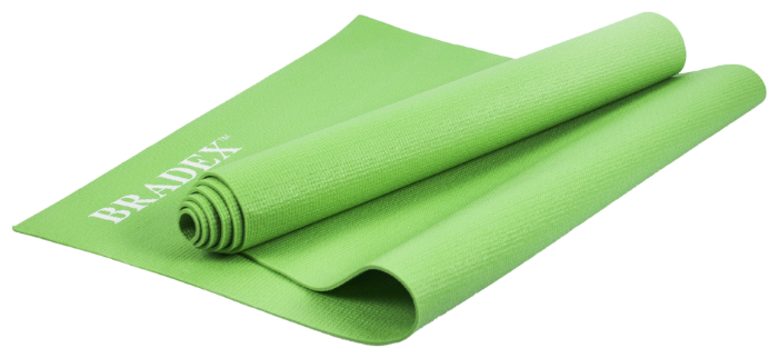 Коврик для йоги BRADEX, 173*61*0,3, розовый SF 0401