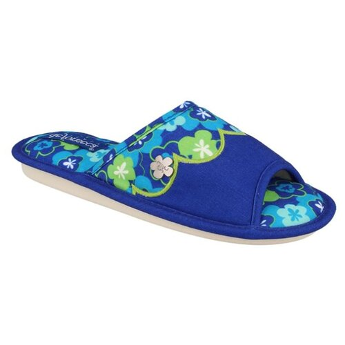 Тапочки BARI TOP W322RU De Fonseca синий 38/39Домашняя обувь<br>