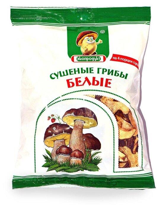 Купить Экопродукт Белые резаные сушеные (Россия) 50 г по низкой цене с доставкой из Яндекс.Маркета (бывший Беру)