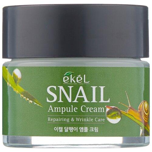 Купить Ekel Ampule Cream Snail Крем для лица с муцином улитки, 70 мл