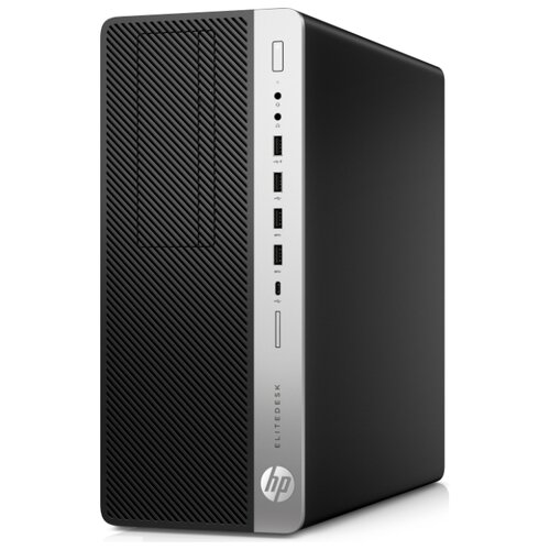 Купить Настольный компьютер HP EliteDesk 800 G4 TWR (7AB52ES) Mini-Tower/Intel Core i7-8700K/16 ГБ/512 ГБ SSD+2 ТБ HDD/NVIDIA GeForce RTX 2080/Windows 10 Pro черный