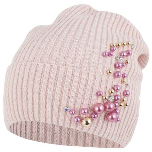 Шапка-бини InFante размер 50-52, розовый шапка бини chicco размер 005 розовый