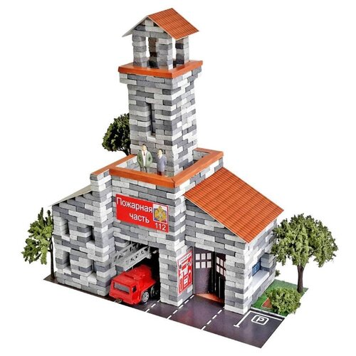 Сборная модель Архитектурное моделирование Пожарная часть Л-21