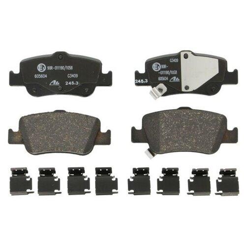 Дисковые тормозные колодки задние ATE 13.0460-5604.2 для Toyota Auris, Toyota Corolla (4 шт.) фото