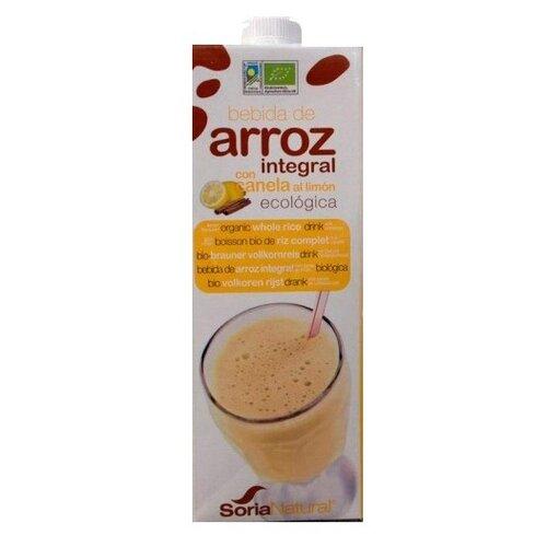 Рисовый напиток Soria Natural de Arroz integral con Canela al Limón с корицей и лимоном 1 л