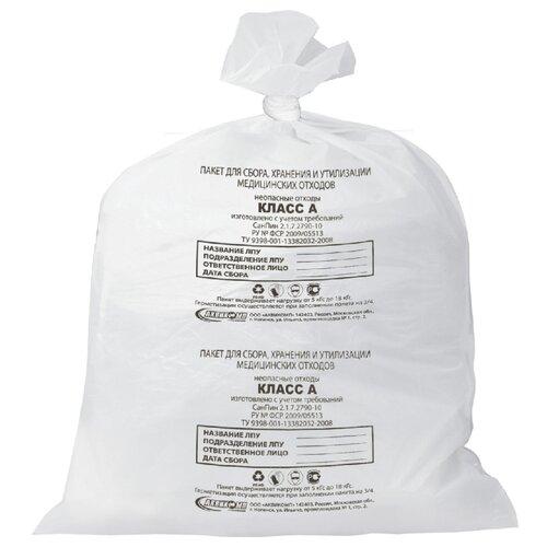 Мешки для мусора Аквикомп Класс А 30 л (50 шт.) белый